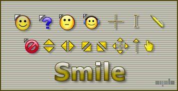 Smile cursor by a-p-b