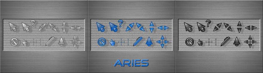 Aries colors CXP for CursorFX