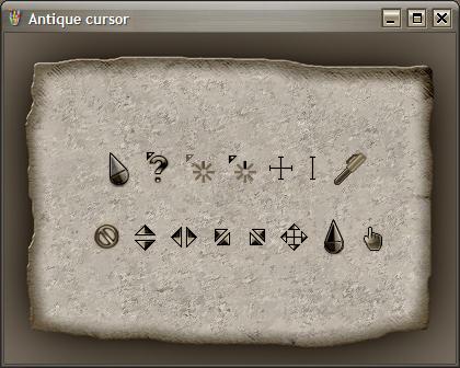 Antique cursor by a-p-b