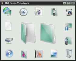 AB1 Green Vista Icons by a-p-b