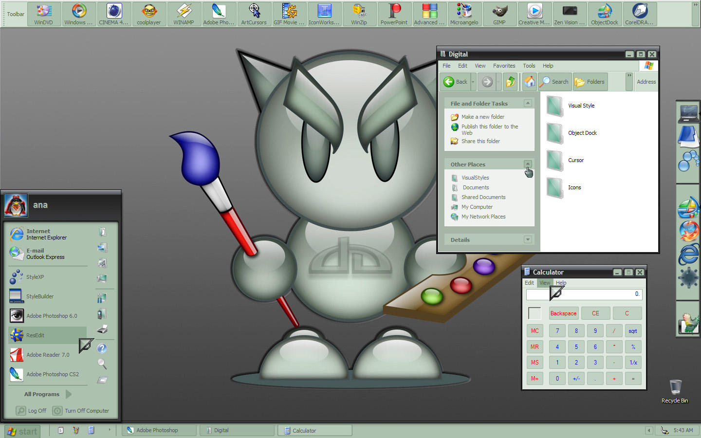 Digital VS by apbaron