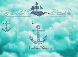 Nautical brushes Nia Kiut by Niakiut