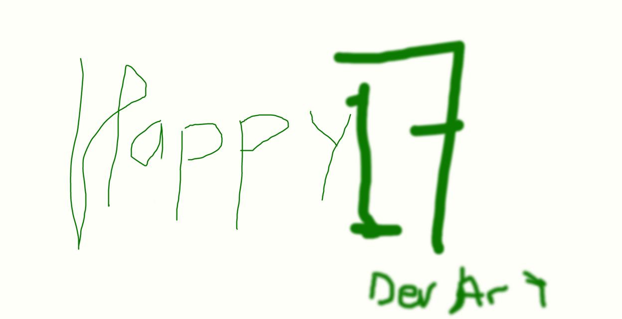happy 17 by MoneyMan12Q