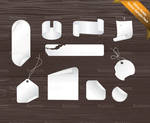 Sticky Note Vector Sample Pack
