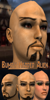 Bumpy Headed Alien 3 pack for Genesis