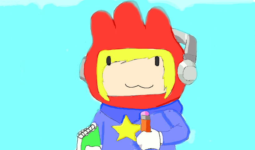 Maxwell Scribblenauts Drawing : Super scribblenauts by link ask you on deviantart
