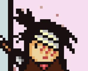 M.U.G.E.N: Buddy Flashes Ryu (GIF)