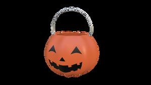 Halloween Bucket blueprint - Blender 2.8