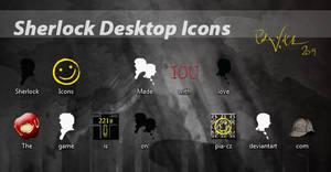 Sherlock Desktop Icons