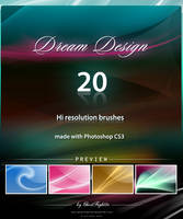 Dream Design Brushes Pack by Andrei-Oprinca