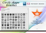 Circles and Shape brushes
