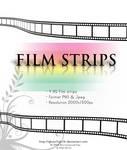3D film Strips Stock