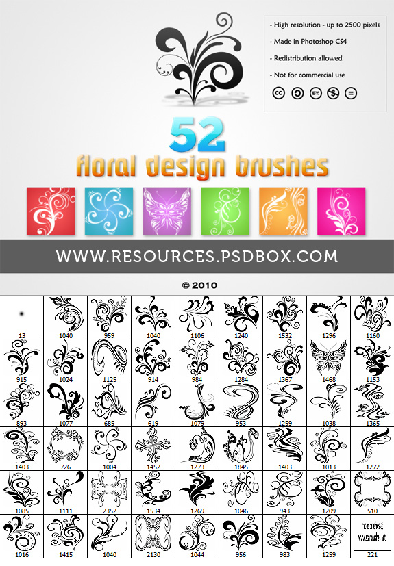 Floral Designs StarBrushes.net by Andrei-Oprinca