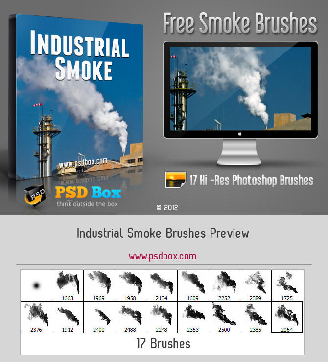 Industrial Smoke Brushes by Andrei-Oprinca