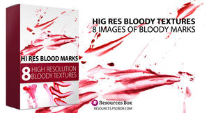 FREE High Resolution Bloody Marks