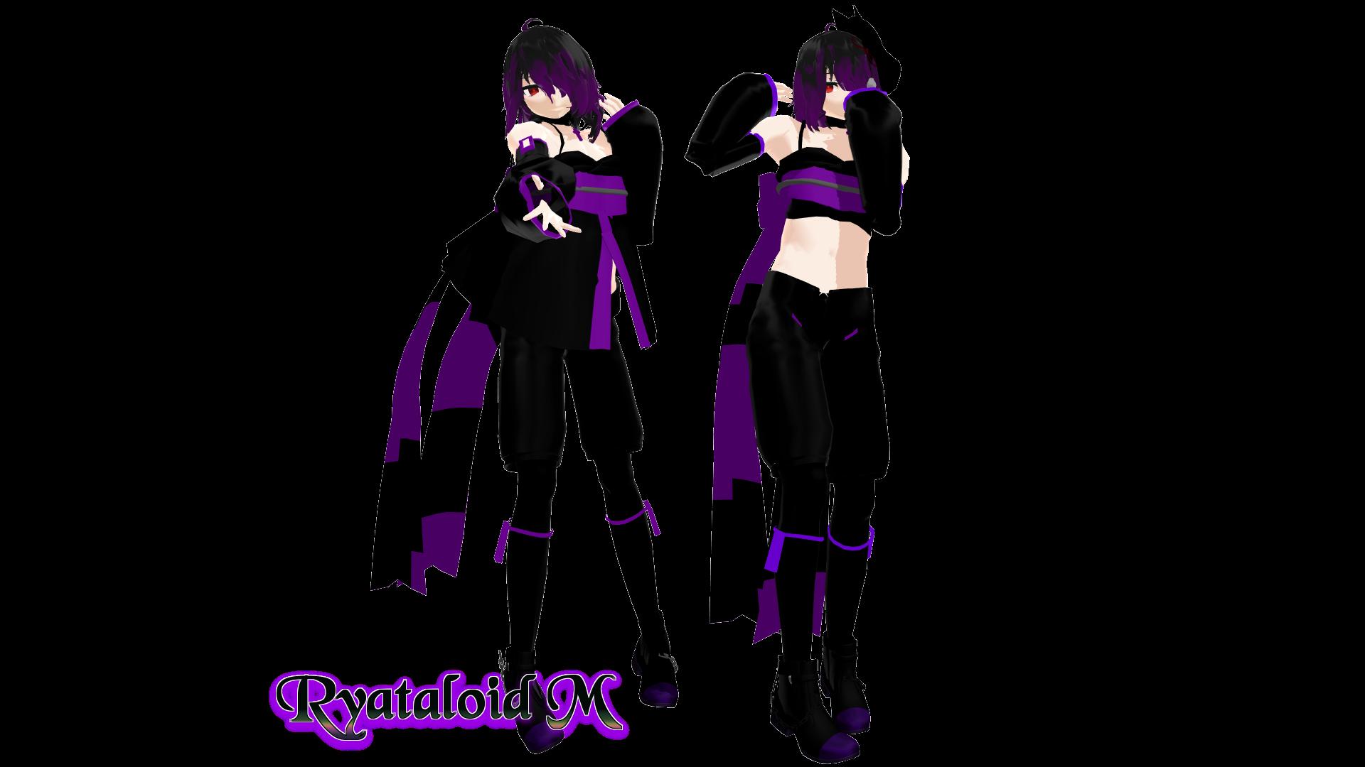 [MMD] UTAU - RYATALOID M by Ayatonic