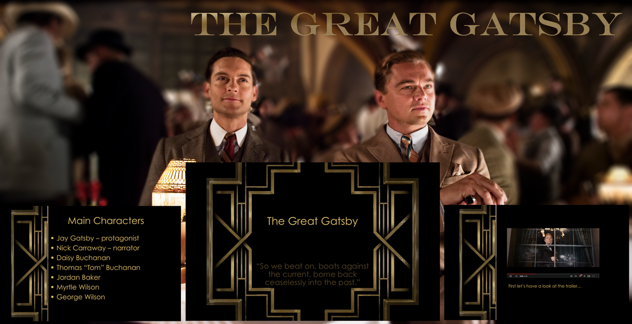 essays on theme in the great gatsby Sample student essays on the great gatsby (protected by turnitincom) unearthing an inner meaning in the final lines of the great gatsby theme of the great.