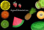 Fruit Brushes
