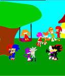 Sonic Playset game