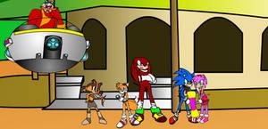 Sonic Boom Playset by Birdhousebirdy