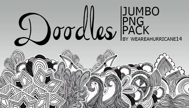 Doodle - Jumbo PNG Pack