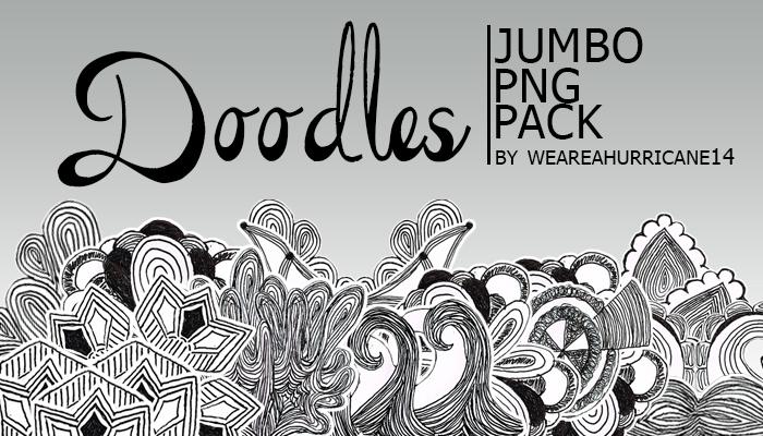 Doodle - Jumbo PNG Pack by WeAreAHurricane14