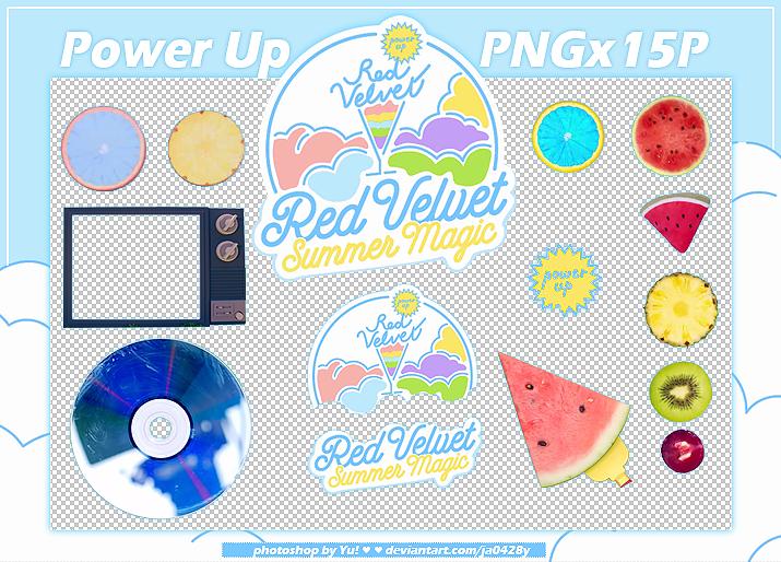 Red Velvet Power Up Pngx15p By Ja0428y On Deviantart