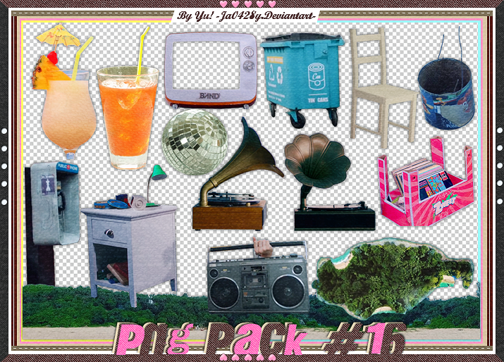 Png Pack #16 by Yu!