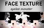 TDA Eyeless monster face Texture