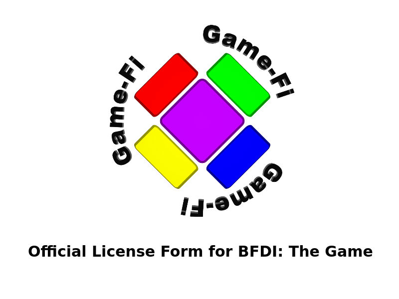BFDI Game-Fi License Form by MickeyFan123 on DeviantArt