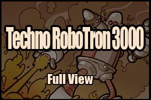 Techno RoboTron 3000 by MathieuBeaulieu