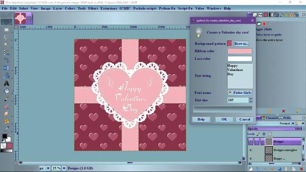 Create Valentine Day Card