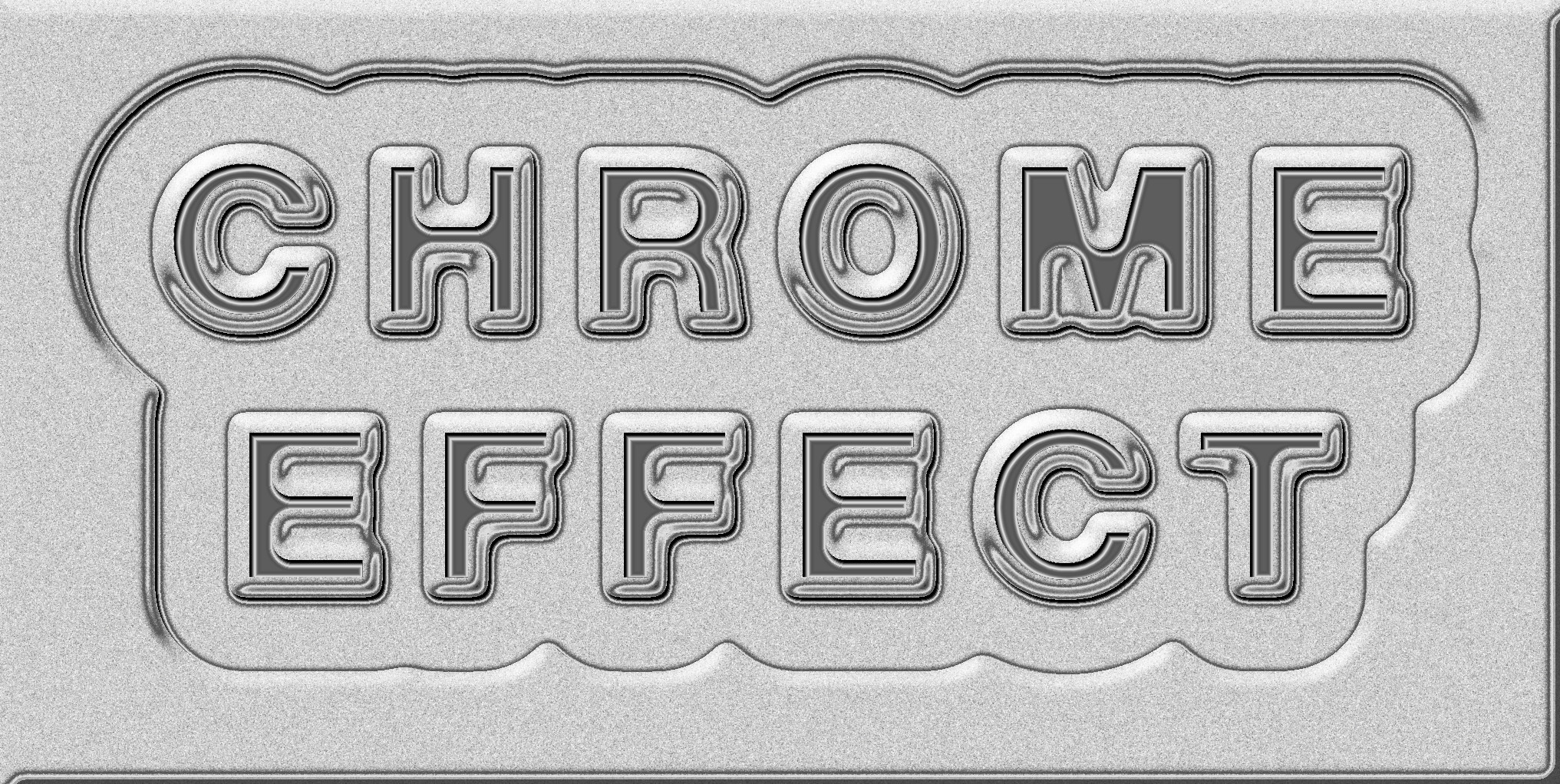 Pm Carved Plastic Or Chrome Text