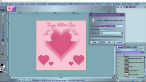 Pm Create Mothers Day Hearts Frame