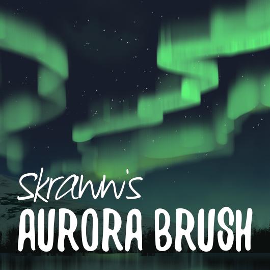 Aurora Brush (Photoshop) by skraww