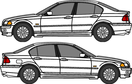 Walfas Vehicles: BMW 3 Series E46