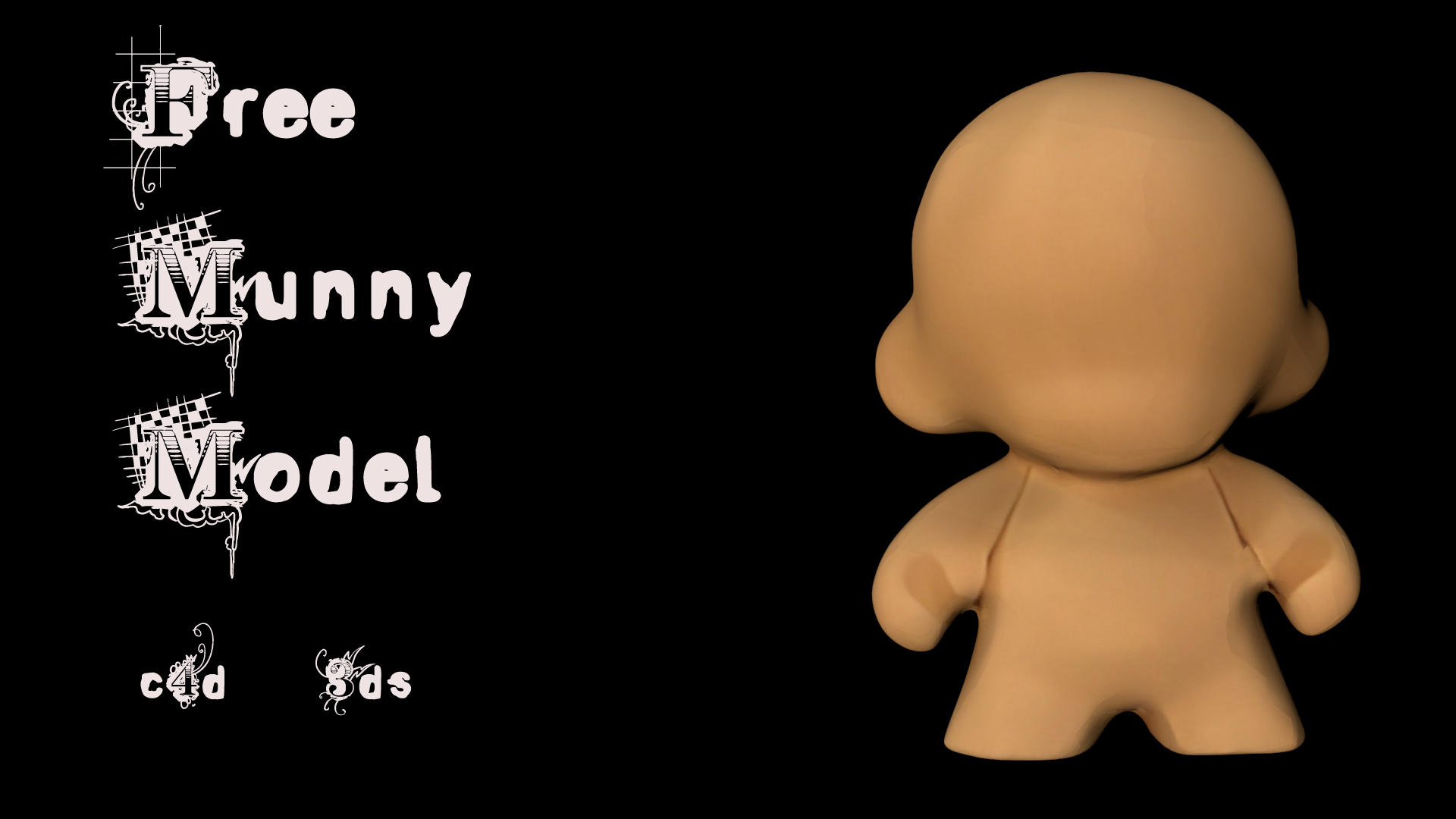 Munny DIY 3D Model by Soulkreig