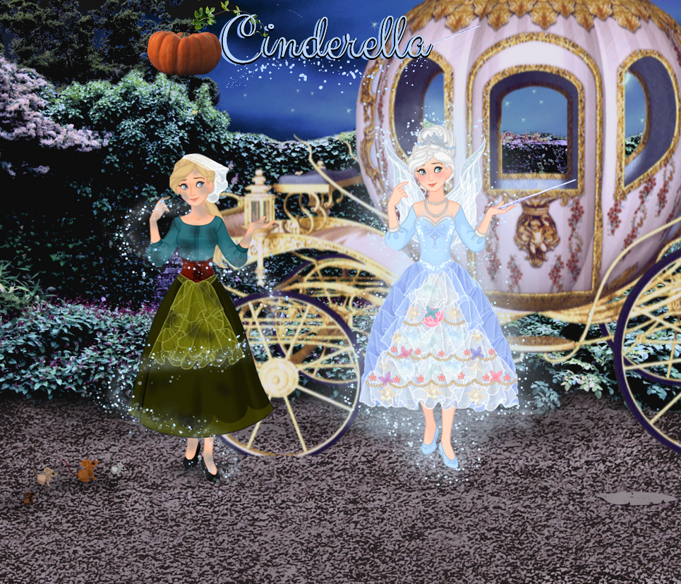 My Cinderella: Illustration 2 by musicmermaid