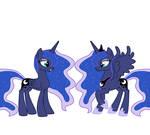 Luna - Celestia disguise transformation
