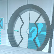 Portal 2 Doors by TurboThunderbolt
