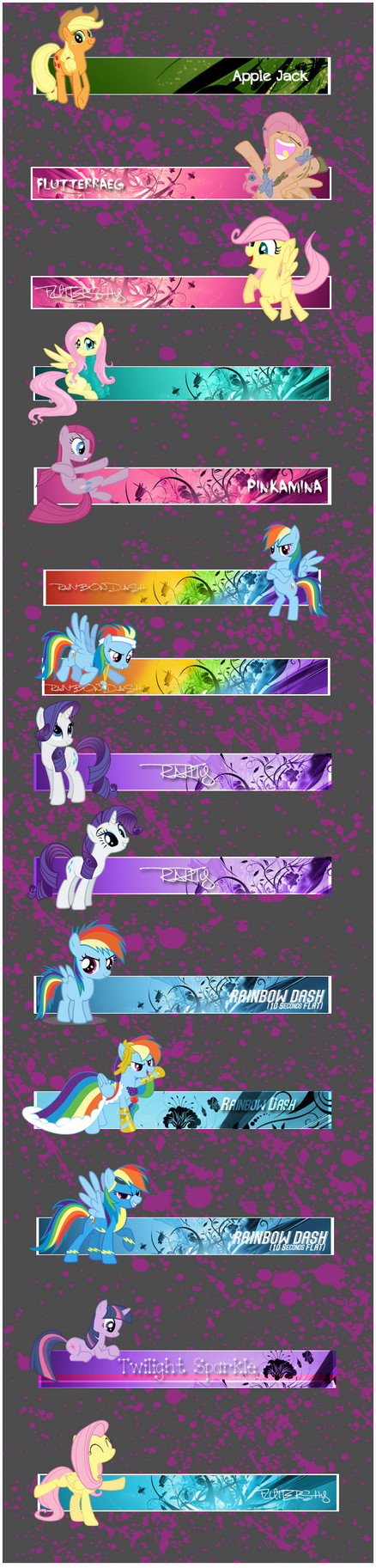 Pony Forum Signatures by Quarion-Design