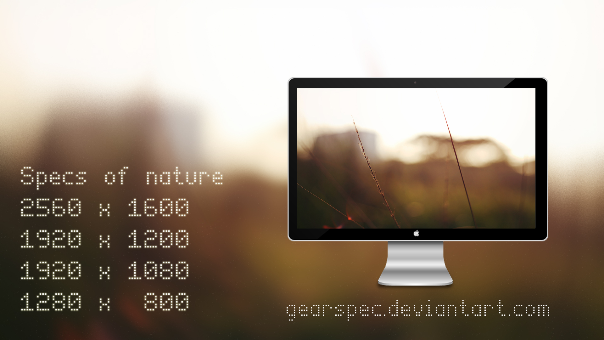 Specs of Nature by gearspec