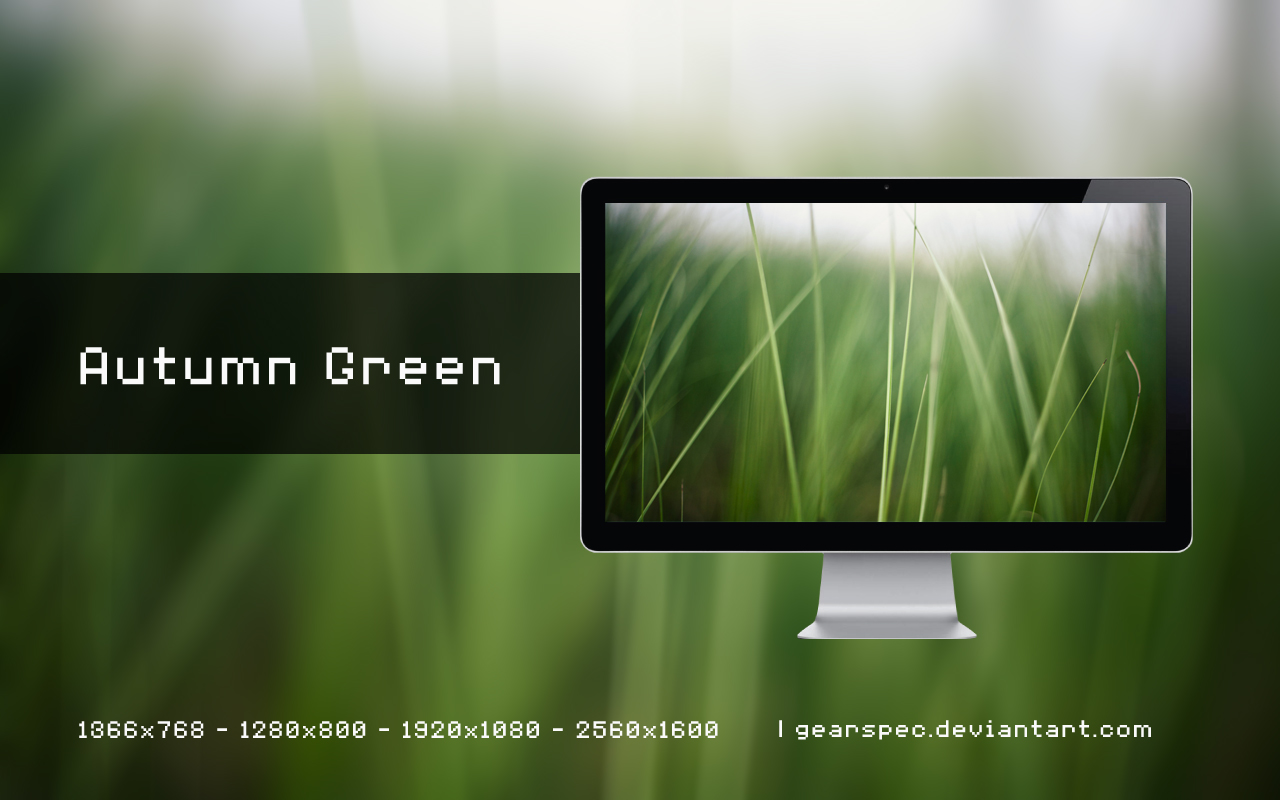 Autumn Green by gearspec