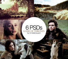 6 PSDs PACK - Game of Thrones by mr-tiefenrausch
