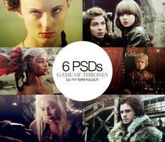 6 PSDs PACK2 - Game of Thrones