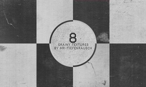 8 grainy textures