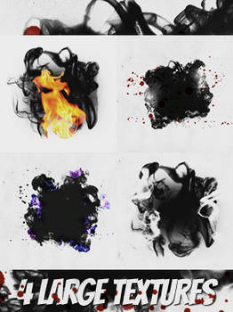 4 Large Textures Pack 1