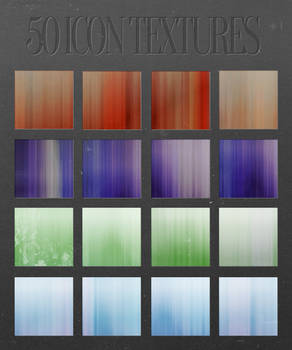 50 Icon Textures Pack by mr-tiefenrausch