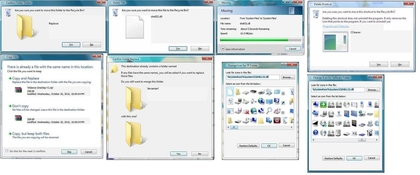 ملف Shell32.dll بشكل ويندوز بالكامل