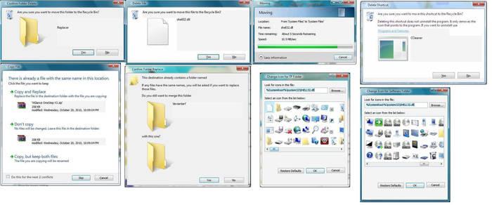 Shell32.dll XP mod 7 Perfect
